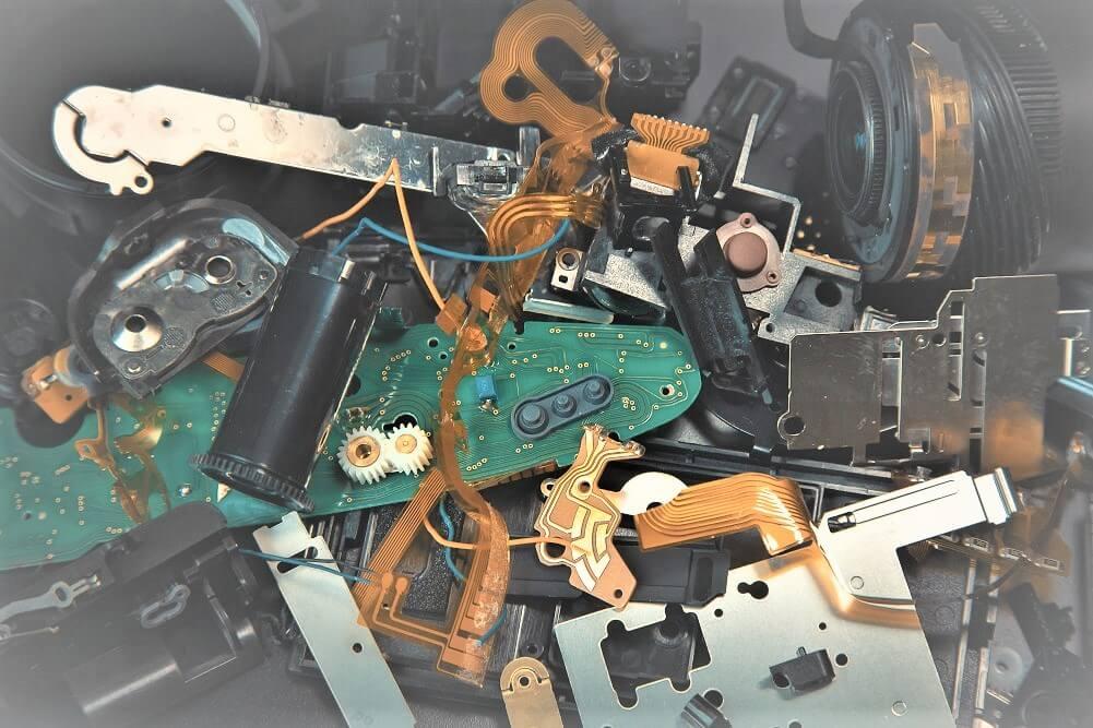 e-hulladék feldolgozás